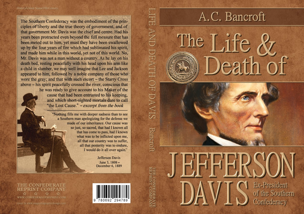 Image result for Life and Death of Jefferson Davis, A.C. Bancroft